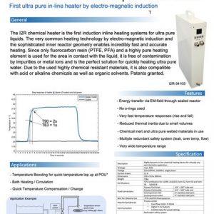 UHP Liquid Heater